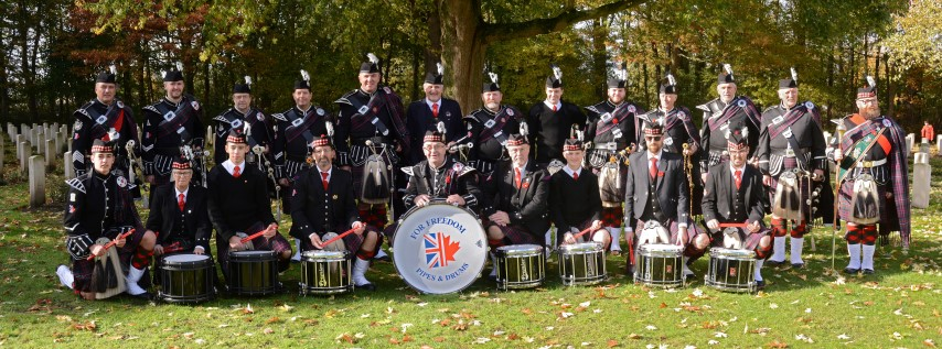 For Freedom Pipes & Drums in Concert