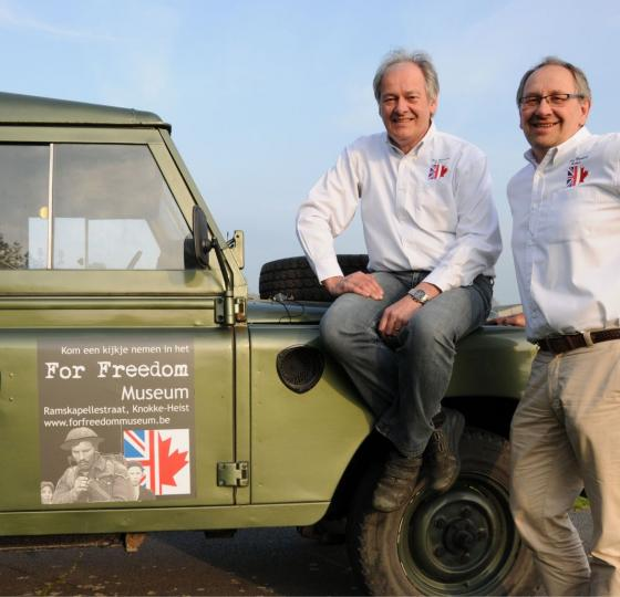 De bevrijding & For Freedom Museum / Danny En Freddy Jones