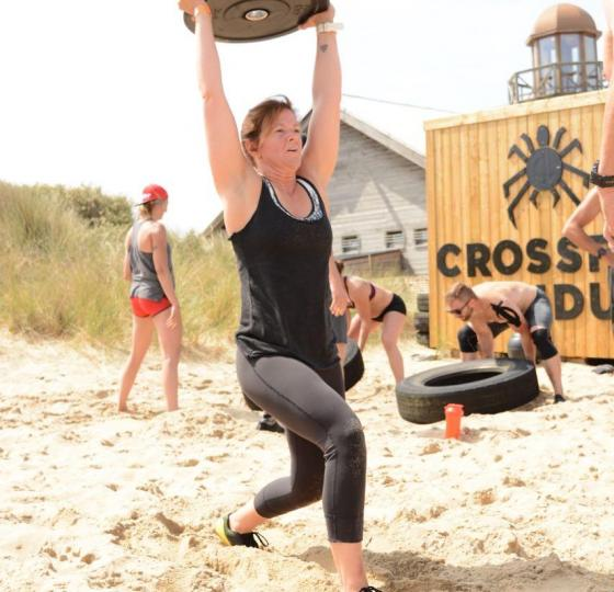 Crossfit on the beach by Crossfit Lividum
