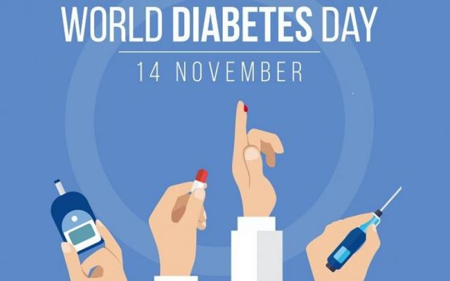 Poster world diabetes day