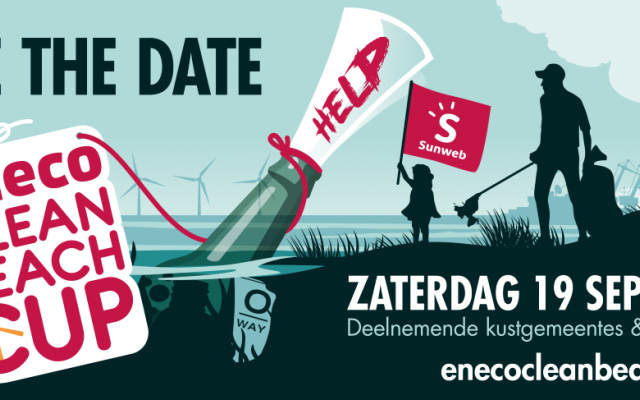poster Eneco Beach Clean Up